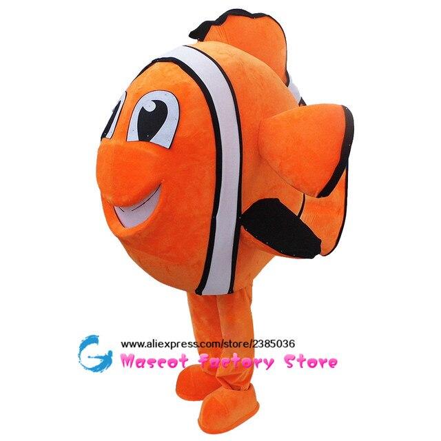 Célèbre Nemo Pesce pagliaccio Mascotte Costume Adulto Personaggio Dei  ID47