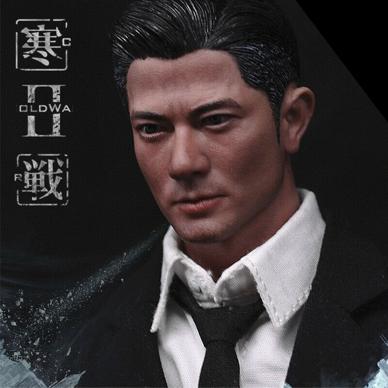 Head sculpt 1 6 Scale male man boy headplay 1 6 Scale Asian Actor Aaron Kwok Male Head Sculpt W neck Fit 12 quot Action Figure Body in Action amp Toy Figures from Toys amp Hobbies