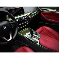 protective tpu 1 Set Transparent Protective TPU Film Stickers For BMW 5 Series (1)