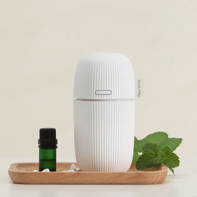 2017 New fashion Smart forg Ultrasonic Humidifier Essential Oil Diffuser 5V USB Aromatherapy USB Aroma Diffuser Mist Maker new humidifier aromatherapy essential oil ultrasonic 70ml 100 240v 20 30 square meters 9 5 9 5 16 5cm bud shape