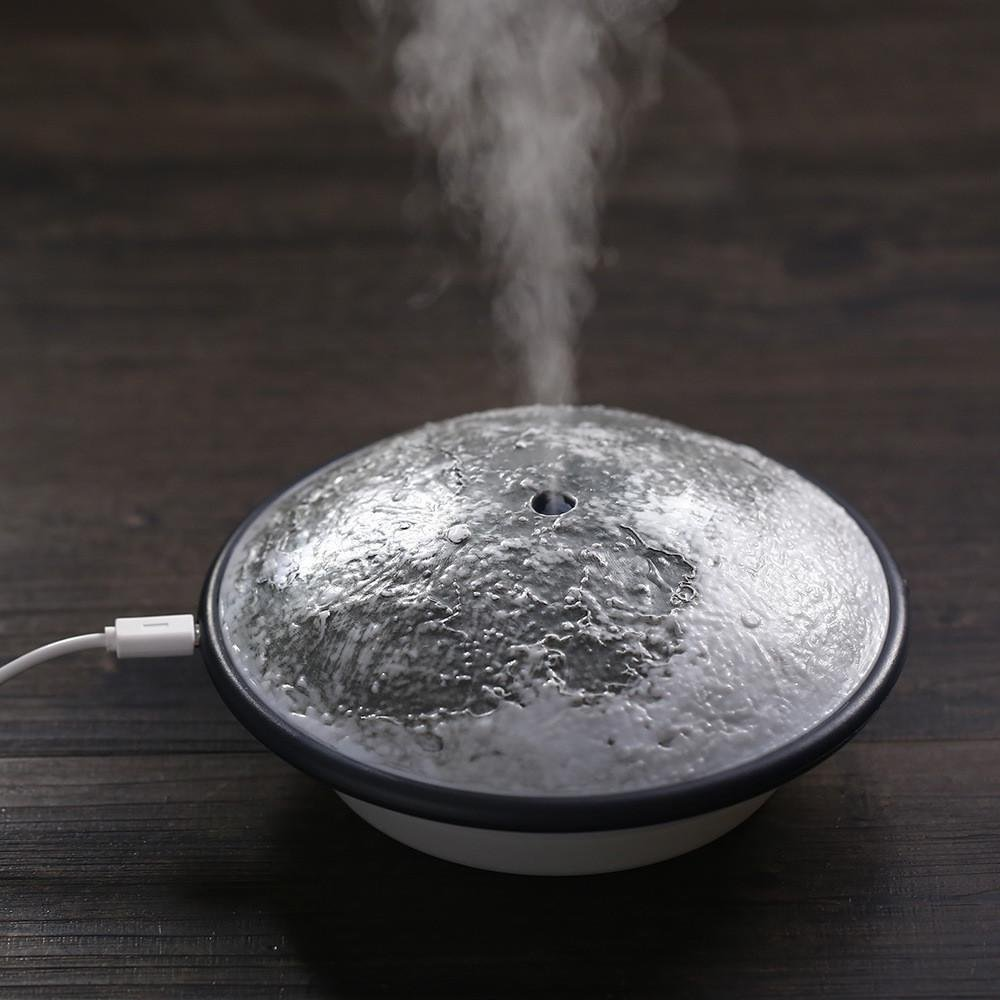 Humidifier Sprayer Emulational Moon Ultrasonic Aromatherapy Essential Oil Diffuser for Car Home Yoga Spa Vaporizer hot sale humidifier aromatherapy essential oil 100 240v 100ml water capacity 20 30 square meters ultrasonic 12w 13 13 9 5cm