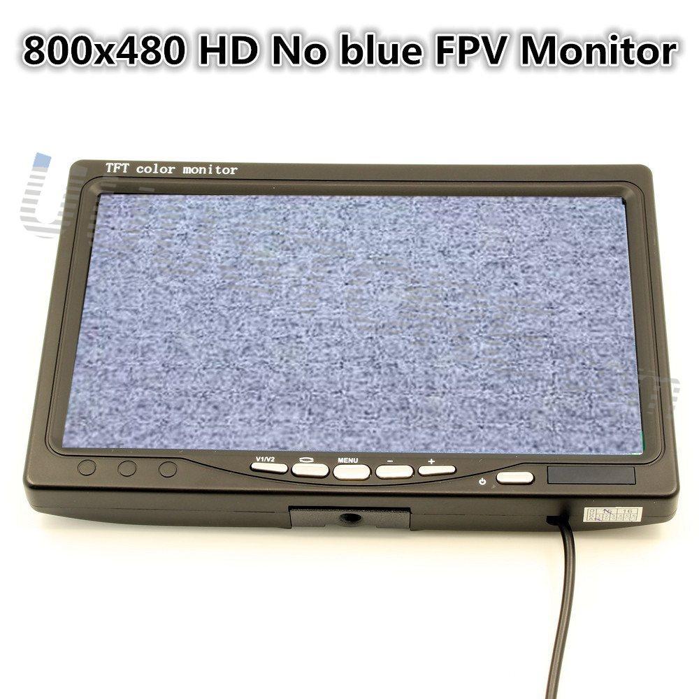 7 pulgadas LCD TFT FPV Monitor de 800x480 con T enchufe No pantalla azul QAV250 DJI Phantom segunda mano  Se entrega en toda España