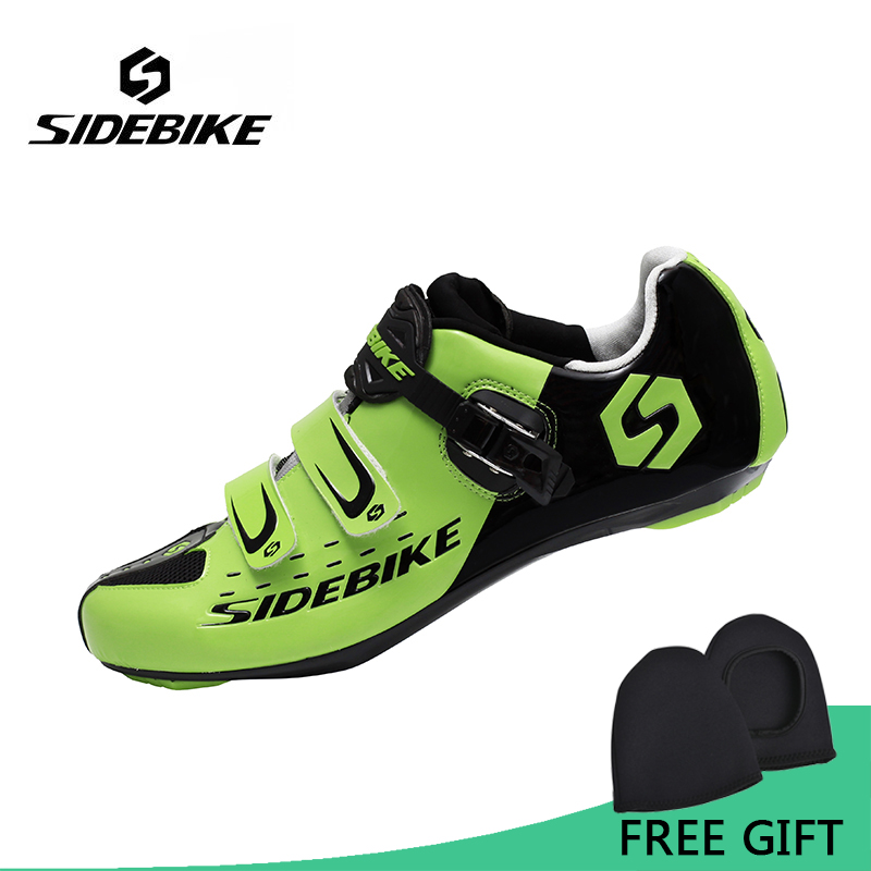 Sidebike Men Road Cycling Shoes Breathable Bike Bicycle Shoes Self-locking Professional Sneakers Zapatillas Ciclismo цена