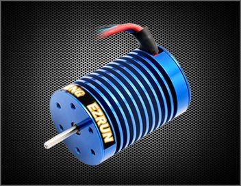 ФОТО YUKALA 3650KV 10T Brushless Motor for 1/10 RC car RC/ TRUCK free shipping