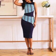 Bohoartist Sexy Club Preppy Beach Style Plus Size Women Dresses Casual Streetwear Blue Bodycon Print Elegant Female Pencil Dress