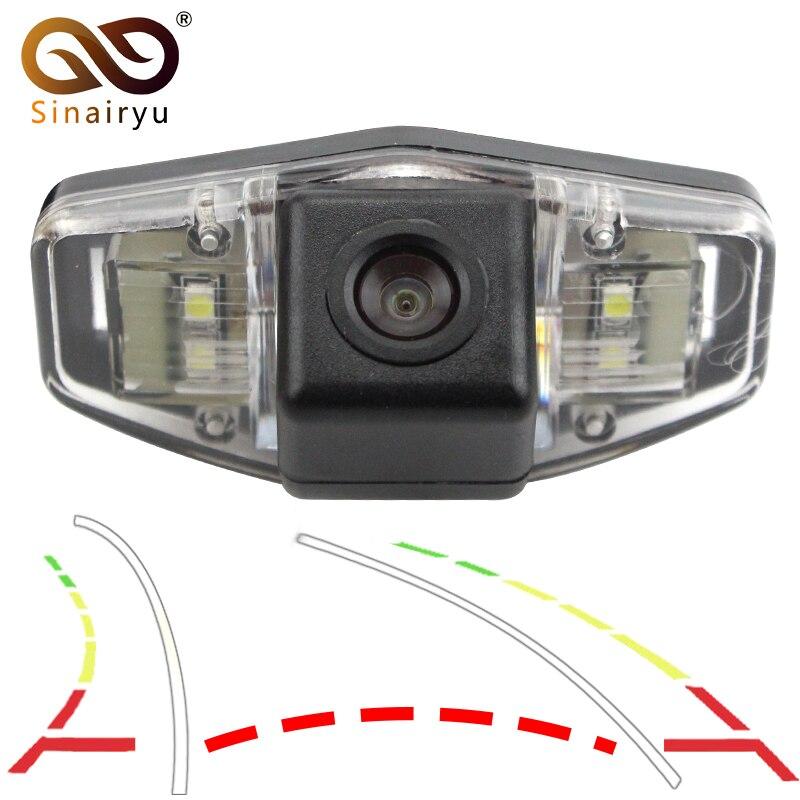 Intelligent Dynamic Trajectory Tracks Vehicles Car Rear View Camera For Honda Accord Civic Europe Pilot Odyssey Acura TSX fedar зажигания катушка для acura csx 11 06 l4 2 0 л honda accord 07 03 uf311 c1382