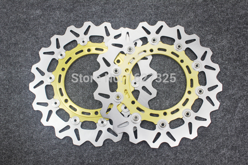 Brand new Motorcycle Front Disc Rotors For YAMAHA FZS 1000 Fazer 01-04/BT 1100 P/R/S/T/V Bulldog 02-06 Universel