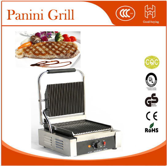 Restaurant Cooking Kit machine Panini cooker Single head Sandwich maker Beaf meat Grill