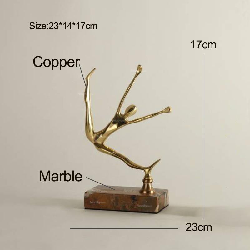 Marmeren shooter Standbeeld Gips Model Stones Ambachten Ornament Creatieve Kunstwerk Beeldjes Woonkamer Wijnkast woonaccessoires