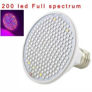 Image 4 - Volledige Spectrum Planten Groeien Led lampen Lamp Verlichting Voor Vegs Hydro Bloem Kas Veg Indoor Tuin E27 Phyto Growbox
