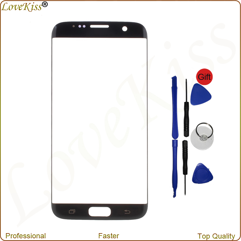 S7 Egde Touch Screen Sensor For Samsung Galaxy S7 edge G935F G935FD Digitizer Panel Front Outer Glass Display Replacement Tools