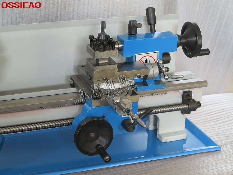 Купить с кэшбэком Home Buddha machine WM210V small ball machine mini machine tool teaching lathe woodworking WM180V / 0618