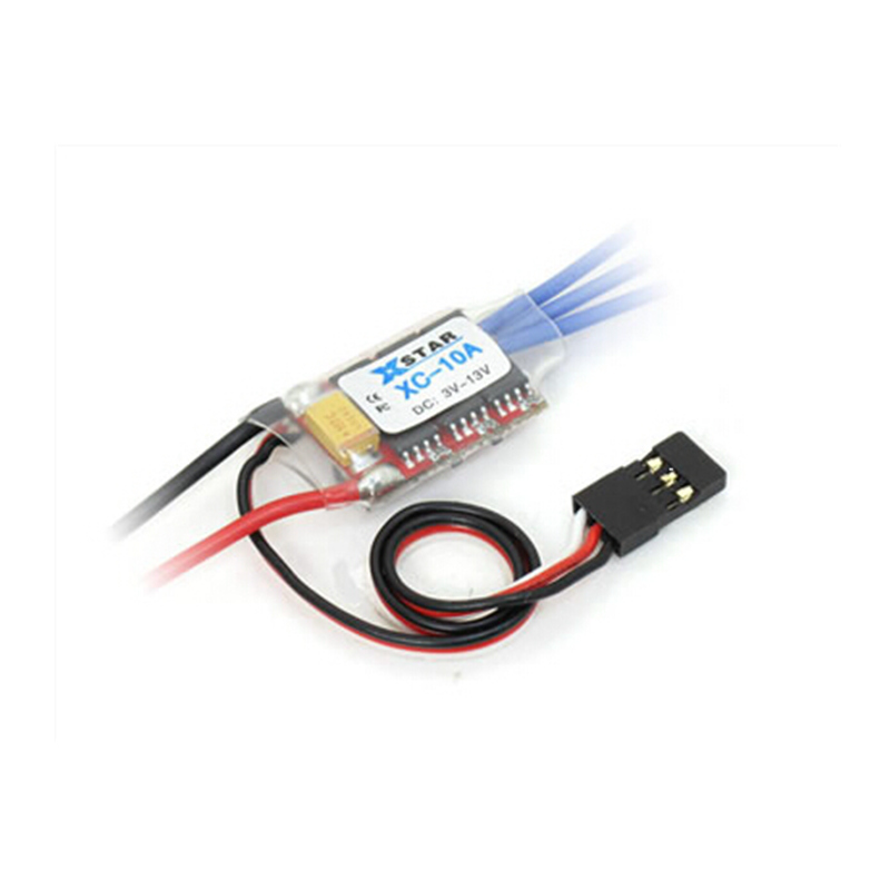 XC-10A RC hobby mini-q mini-z car brushless ESC 10A 1-2S 8g