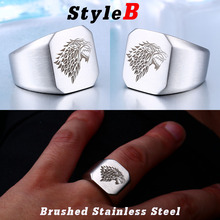 Winterfell Wolf Ring