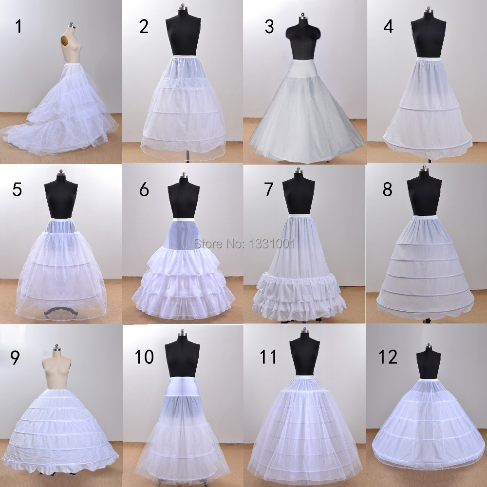 High Quality White 6 Hoops I Layers Petticoat Crinoline Slip Underskirt For Wedding Dress Bridal Gown Saiote In Stock 2016 Petticoats From Weddings