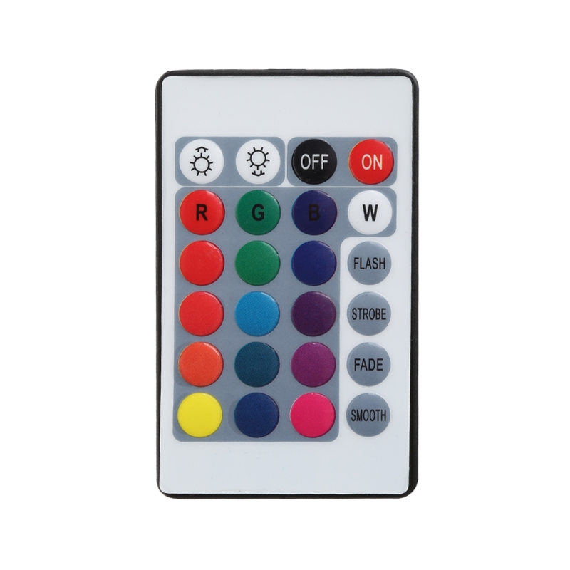 LED 24 Keys IR Remote Controller Wireless For 3528 5050 RGB SMD Strips New
