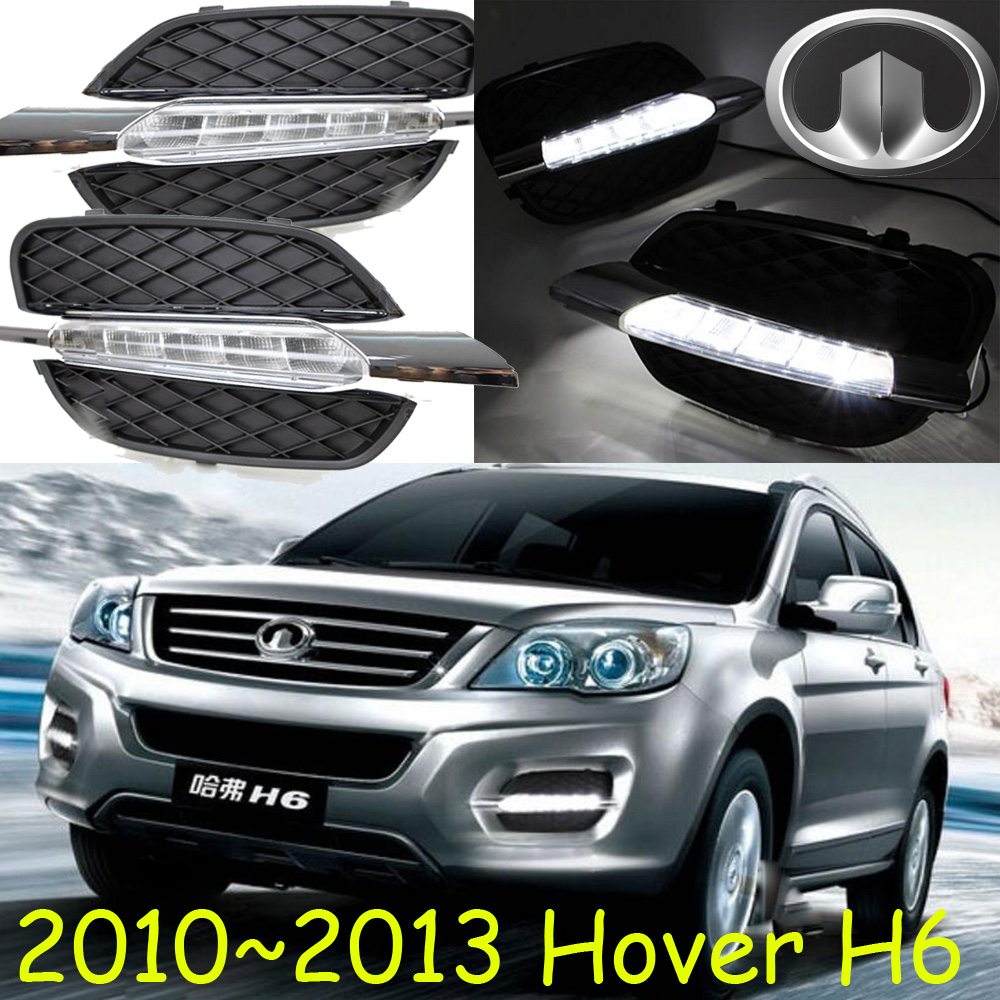 2010~2013 Great Wall Hover H6 daytime light,Free ship!LED,Hover H6 fog light,2ps/set, б у авто great wall wall hover 2 4p mt 5w