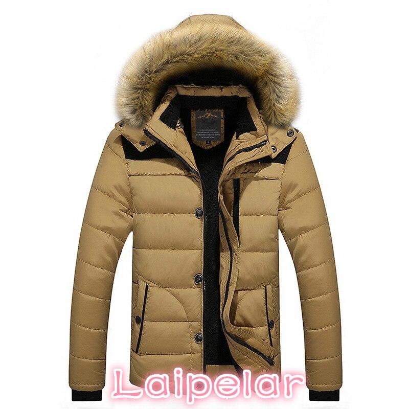 FIT -25 'C Brand Winter Jacket Men 2018 New   Parka   Coat Men Down Keep warm Fashion M-4XL 5XL 6XL Laipelar