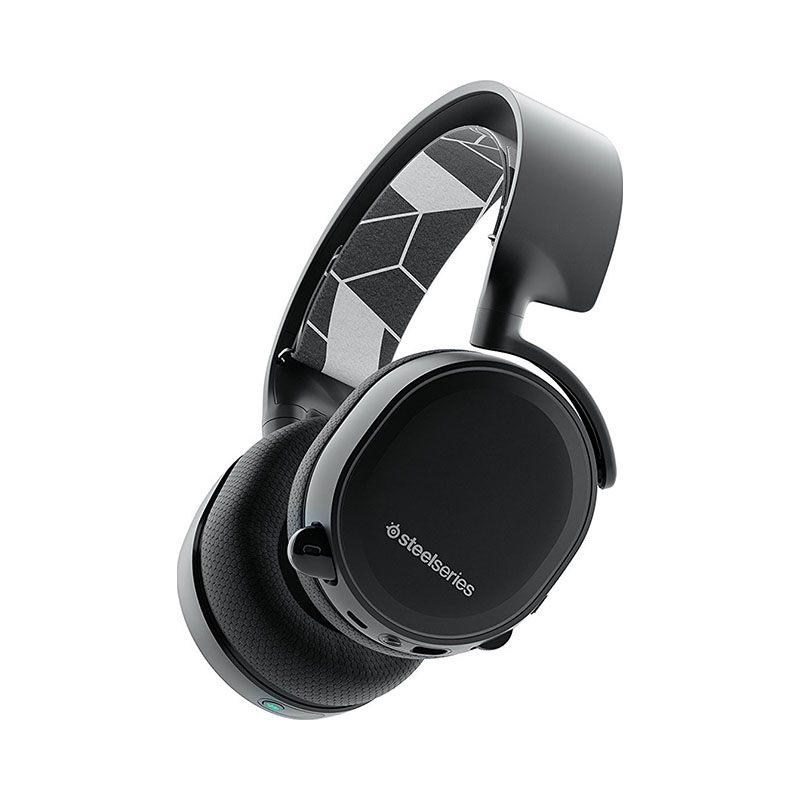 Headphones SteelSeries Arctis 3 Bluetooth zealot b19 bluetooth 4 1 headphones with mic digital display stereo fm radio