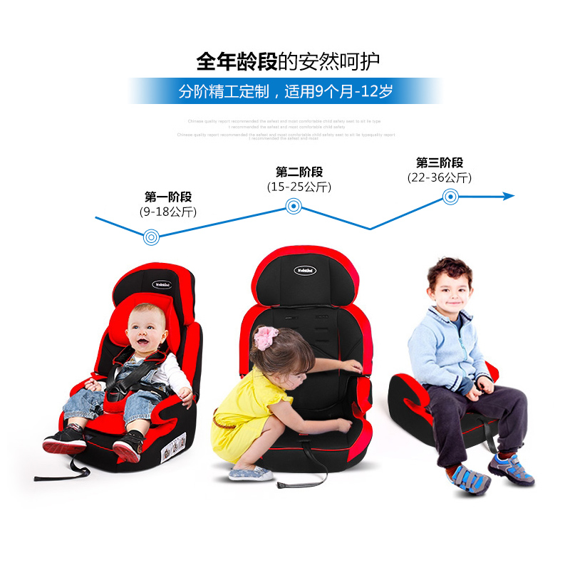Mackay baby seat  child car safety seats portable baby for child sitting STYLE seat 9 months -12 years old seat new heighten baby car child safety seat 1 12 years old kids protection portable child safety car seat baby sitting chair in car