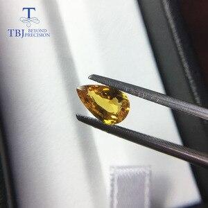 Image 5 - Tbj,ธรรมชาติอุ่นสีเหลือง 1CT UP คุณภาพดีเล็กน้อยรวมอัญมณีสำหรับ DIY GOLD เครื่องประดับ
