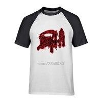 Hot Cheap Mens Slim Fit Printed Tee Shirts Mens DEATH Class Logo T Shirt ROCK BAND
