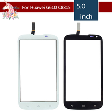 5.0 For Huawei Ascend G610 C8815 LCD Touch Screen Digitizer Sensor Outer Glass Lens Panel Replacement 5 0 for zte blade a315 lcd touch screen digitizer sensor outer glass lens panel replacement