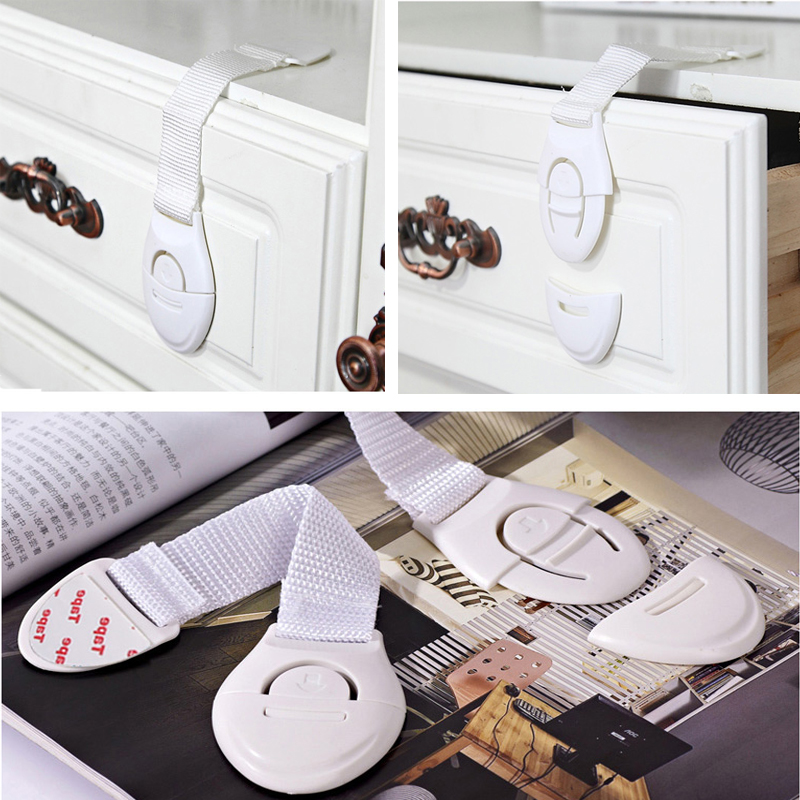 Protection Baby Safety Drawer Locks Newborn Care Child Finger Protector Kids Door Lock Refrigerator Cabinet Magnetic