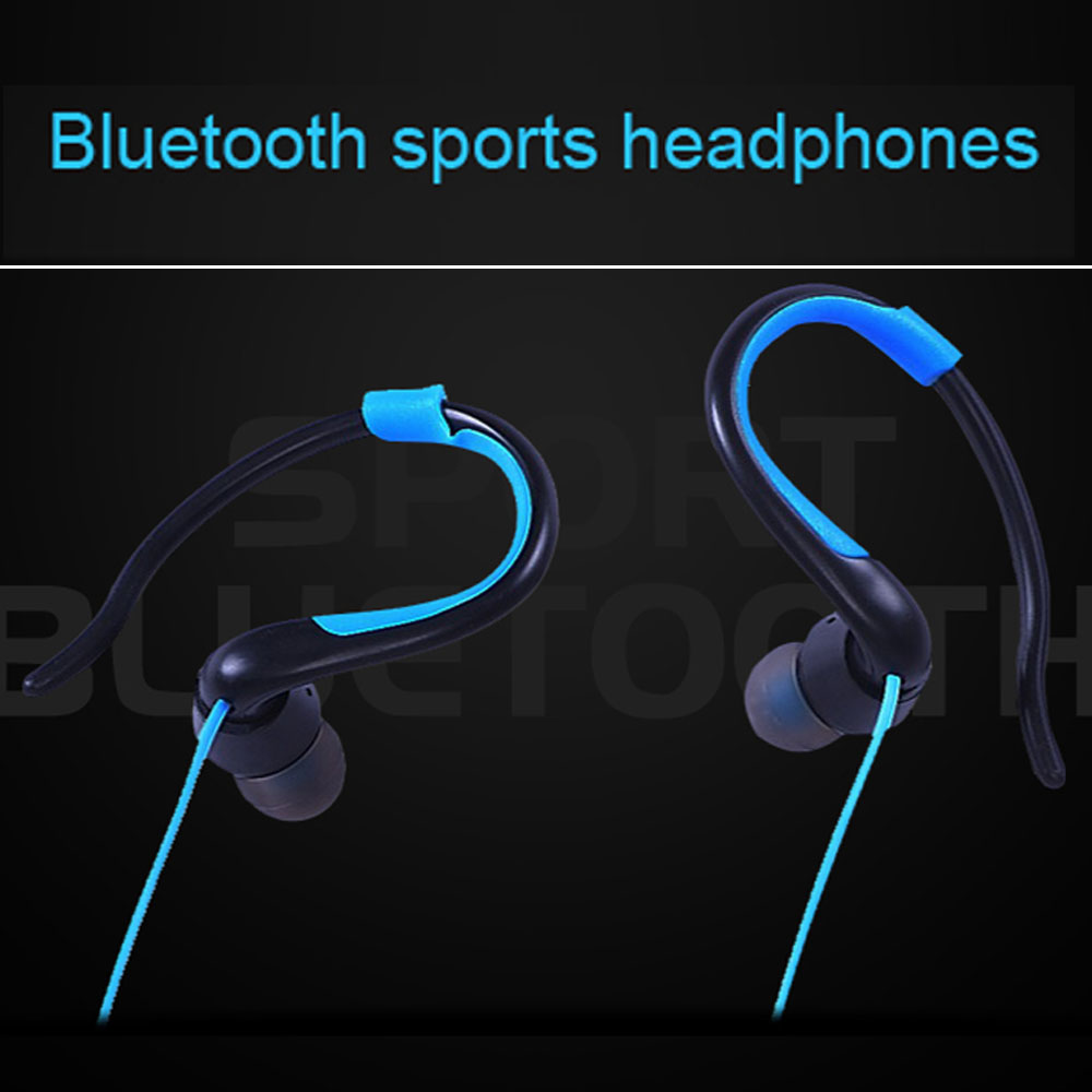 Sports Wireless Earphone Headphones with Microphne Stereo Bluetooth Headset for iPhone Xiaomi Auriculares Cuffia fone de ouvido hestia ex 01 bluetooth earphone car headphones with microphone auriculares wireless stereo headset audifonos for iphone 6 7 sony