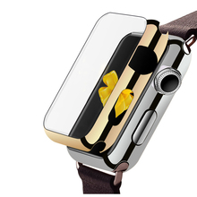 Leegoal for Apple iWatch 38mm/ 42mm Smart Watch Aluminum Case Metal Alloy Protector Cover Protection for Apple Watch Series 2