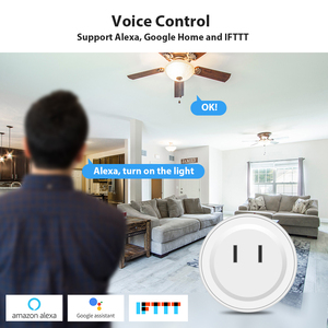 Image 2 - DveeTech Wifi תקע ממסר Wifi חכם שקע עם אמזון Alexa Google בית IFTTT מרחוק מתג לוח on/off אנרגיה צג