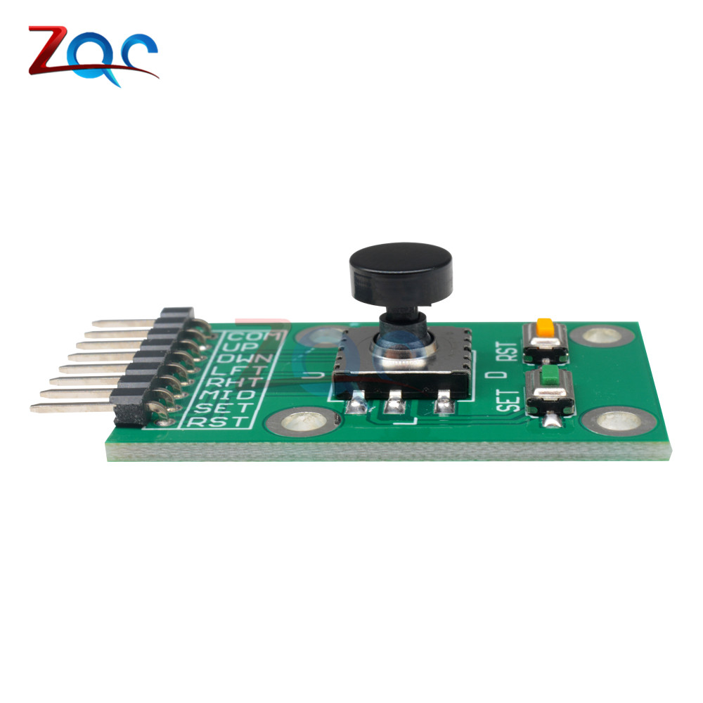 Buy Five Direction Navigation Button Module For Mcu Control Motor Speed And Avr Game 5d Rocker Joystick Independent Keyboard Arduino From