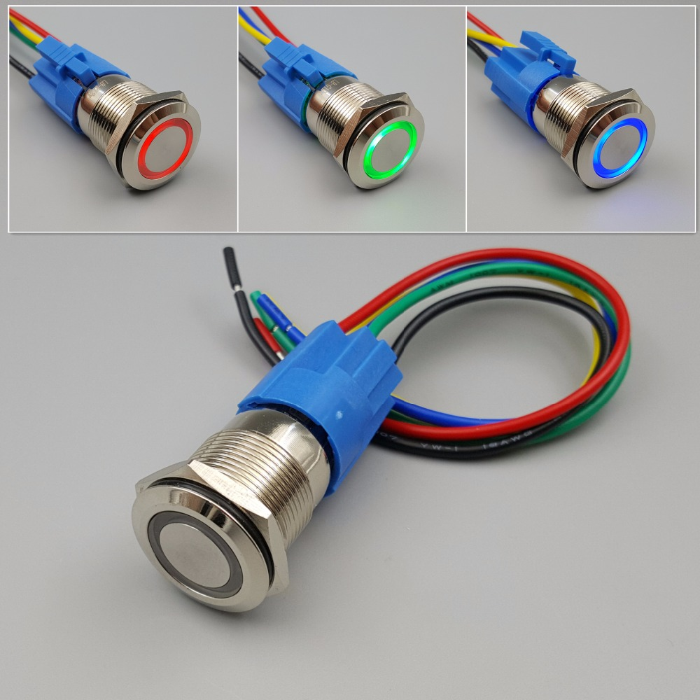 medium resolution of 5 pin led switch wiring diagram wiring diagrams wni 19mm waterproof metal 12v led 5pin maintained