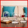 Новые красивые рождественские подарки  стеклянные хрустальные 3 вида цветов розы  свадебные подарки на день Святого Валентина  сувениры  ук...