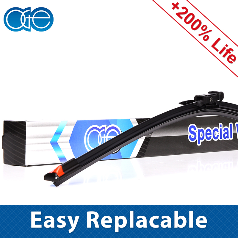 Oge 14''-32'' Windshield Wiper Blade Fit Pinch Tab Wiper Arm, Replace Rubber Refill Convenient
