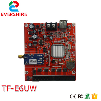 GPRS led control card longgreat TF-E6UW 128*6400 pixel single,dual color and full color led controller card
