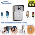720 p ip cámara wifi puerta peehole visión nocturna video de la puerta timbre inalámbrico cámara del teléfono de bell motion detección
