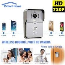 720 P IP Беспроводной звонок Камеры Wi-Fi Дверь Peehole Ночного Видения Дверь Камеры Видео Звонок Телефона Домофона Motion Detection