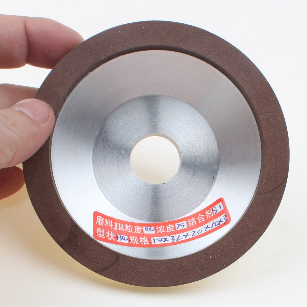 100mm Diamond Grinding Wheel Cup 180 Grit Cutter Grinder For Carbide Metal