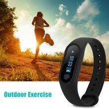 Bluetooth Спорт умный Браслет Шагомер сердечного ритма Мониторы часы анти-потерянный напоминание здоровья часы