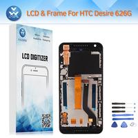 AAA Pantalla For HTC Desire 626 626G LCD Replacement Display Touch Screen Digitizer Glass Frame Bezel