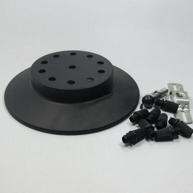 Bases da Lâmpada dossel de teto placa de Matéria-prima : Ferro