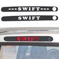 Car Sticker For Suzuki Swift Dedicated High Brake Lights Stick Carbon Fiber Sticker Tail Lights car styling