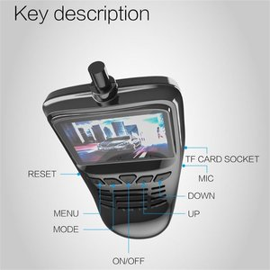 Image 5 - Small Eye Dash Cam Car DVR Recorder Camera with Wifi Full  1080p Wide Angle Lens G Sensor Night Vision Dash Cam