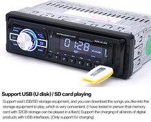 2016 автомобилей Радио плеер 1 din 12 В Авто Стерео MP3-плееры FM SD MP3-плееры AUX USB Дистанционное управление LED/ЖК-дисплей дисплей автомобиль аудио