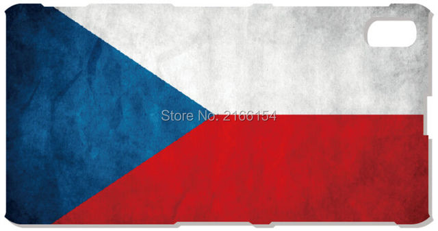 Czech Republic Flag Mobile Case For Sony Xperia Z Z1 Z2 Z3 Z4 Z5 Compact Mini E4 M C1904 C1905 M2 M5 C3 C4 SP M35h Phone Cover