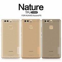 Huawei Ascend P9 Case Cover NILLKIN Ultra Thin Transparent Nature TPU Case TPU Soft Back Cover