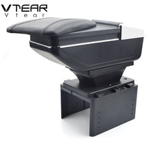 Vtear для Toyota Avensis подлокотник коробка центральный магазин содержание коробка продукты интерьер подлокотник хранение автомобиля-Стайлинг Аксессуары 07-10