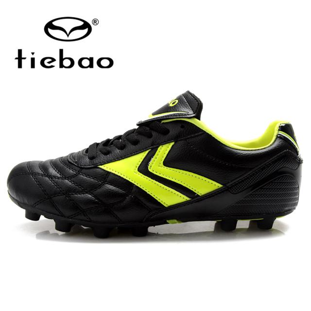 Tiebao profesional de niños de los niños al aire libre zapatos de fútbol fg y hg y Suelas de zapatos de Fútbol AG Niños Niñas Botas de Fútbol Para Niños zapatillas de deporte