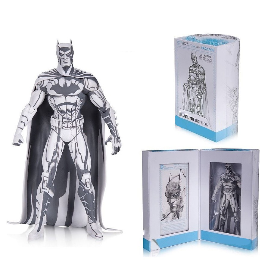 Batman 1/8 scale painted 2015 Blueline Edition ACGN Garage Kit Toy Brinquedos PVC Action Figure Collectible Model Toy 16cmKT2989 batman 1 8 scale painted 2015 blueline edition acgn garage kit toy brinquedos pvc action figure collectible model toy 16cmkt2989